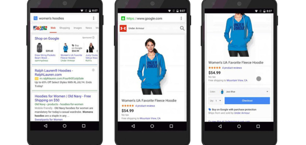 """Google mobil arama sonuçlarında """"satın al"""" butonuna hazırlanıyor"""