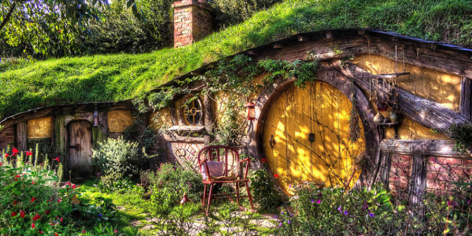 Hobbit evinde kalmak ister misiniz?