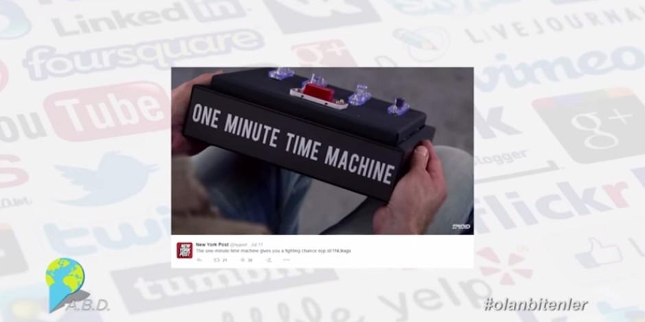 Bir dakika öncesine götüren zaman makinesi ile Sosyal Medya'da #olanbitenler