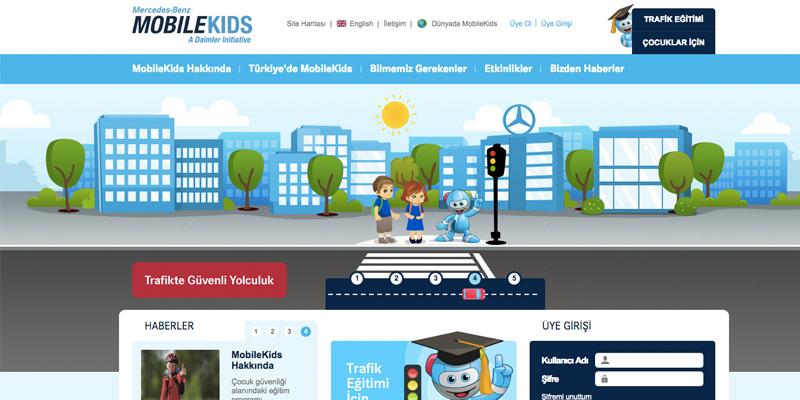 MobileKids Trafik Eğitim Projesi 1