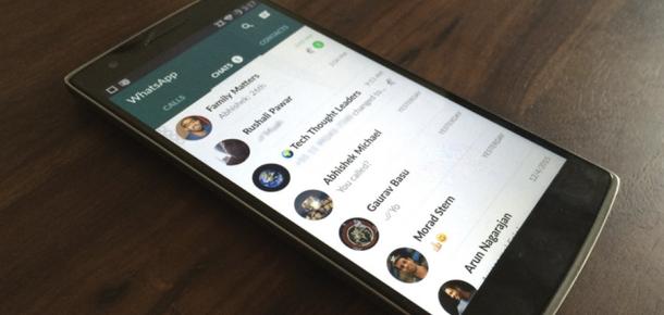 WhatsApp webde yeni özellikler