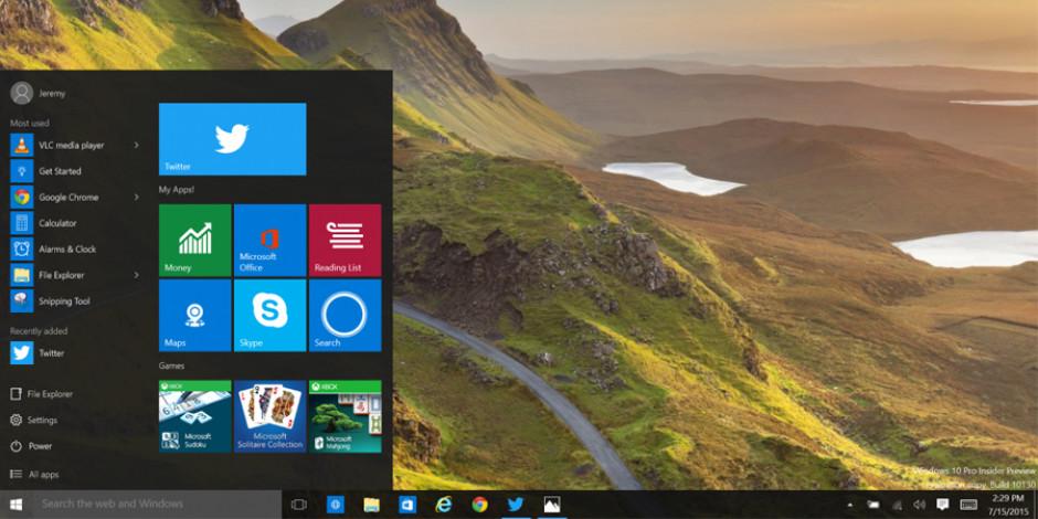 Windows 10 için yepyeni Bir Twitter