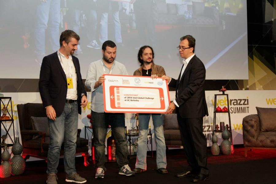 Intel Challenge Türkiye'nin kazananı PAO - Webrazzi Summit 2014