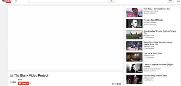 Tamamı boş olan 4 dakikalık bir video YouTube'da nasıl 100.000 defa izlendi?