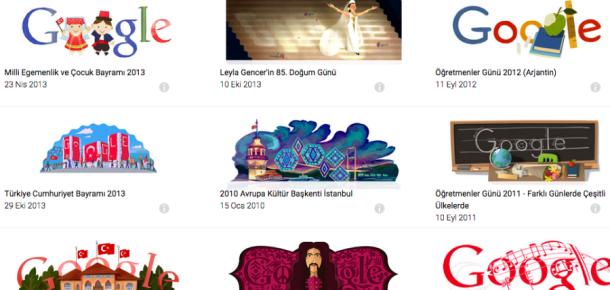 Anket: Google'ın Türkiye için yaptığı en iyi doodle sizce hangisi?