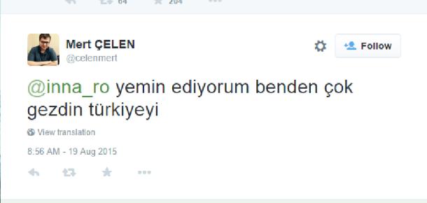Inna'nın Türkiye'ye gelişi ile ilgili sosyal medyada eğlendiren yorumlar