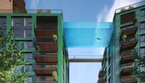 """Londra yeni """"gökyüzü havuzu""""nu merakla bekliyor"""