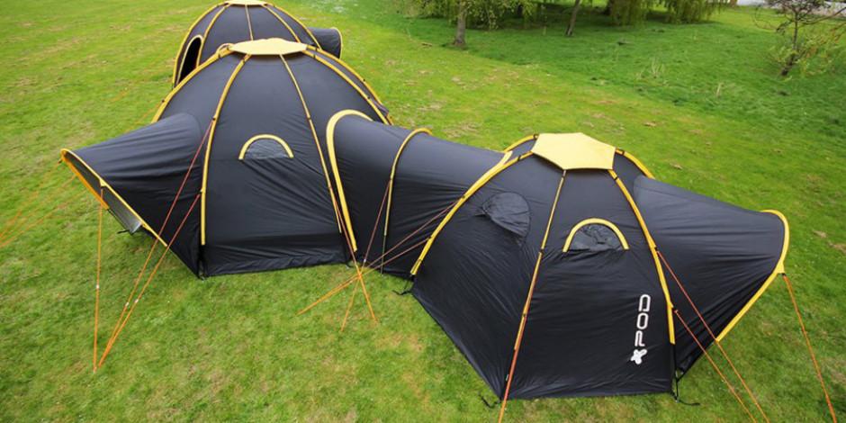 Kamp severlerin yeni gözdesi olmaya aday: Çok odalı modüler çadır