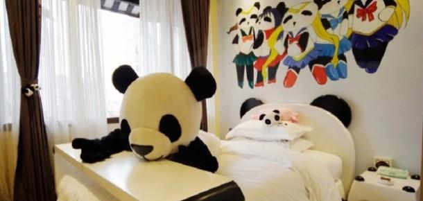 Panda temalı ilk otel Çin'de açıldı