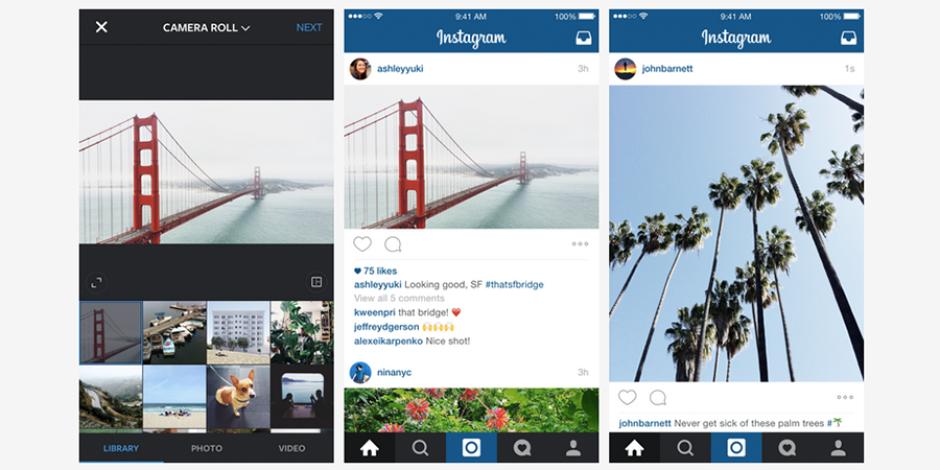 Instagram paylaşımlarınız artık kare olmak zorunda değil