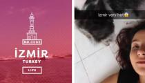 Snapchat'te İzmir rüzgarı