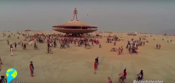 Burning Man Festivali ile sosyal medyada #olanbitenler