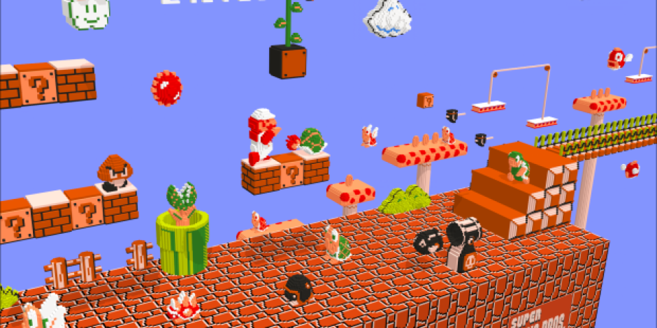 30 yılda bizden biri olan Super Mario!