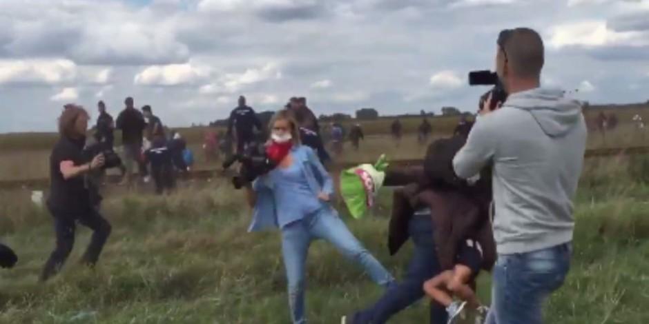 Sosyal medyanın gündemi olan Macar kameramanın başı bu sefer polisle belada!