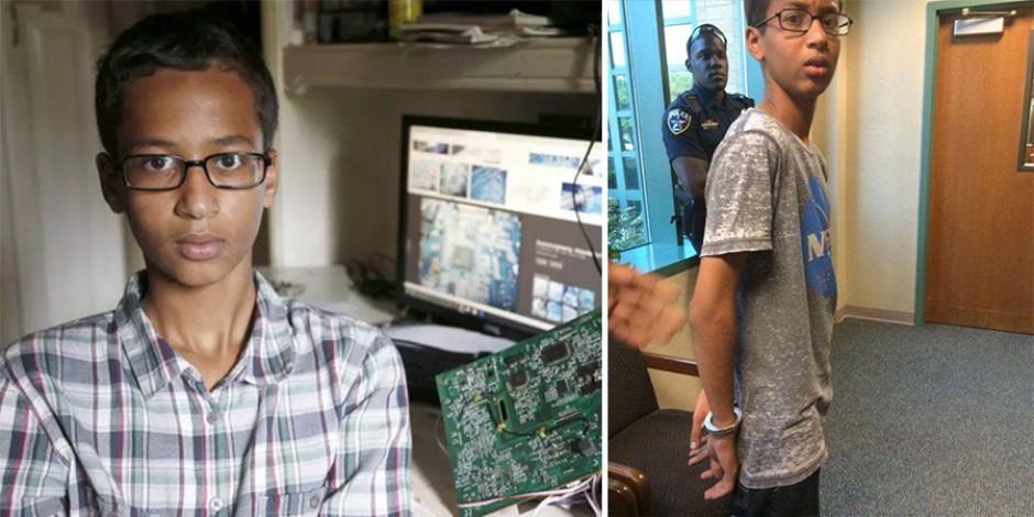 14 yaşındaki Ahmed Mohamed ABD'nin gündemine oturdu