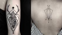Dünyaca ünlü dövmeci Okan Uçkun'dan geometrik sanat