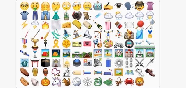 iOS 9.1 ile yepyeni emojiler geliyor
