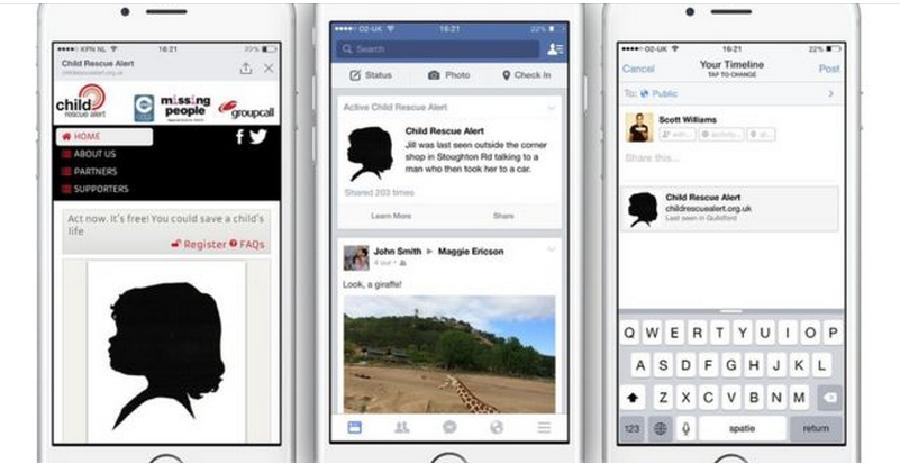 facebook kayıp çocuklar