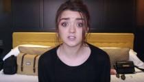 Arya Stark'ı canlandıran Maisie Williams, YouTube kanalında ilk videosunu yayınladı!