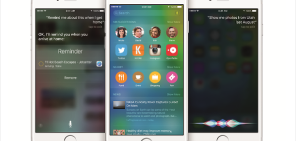 iOS 9'da gizlenmiş 12 özellik