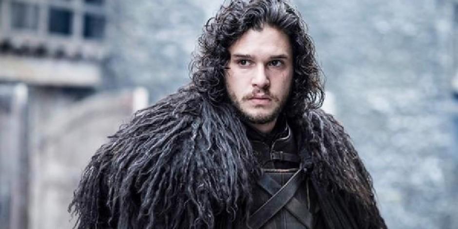Jon Snow Game of Thrones setinde yakalanmış olabilir