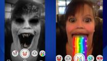 Snapchat Lenses artık arka kameradan da kullanılabilecek