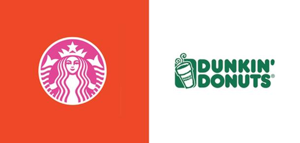 Popüler marka logolarını rakiplerinin renkleriyle değiştirirseniz nasıl görünür?