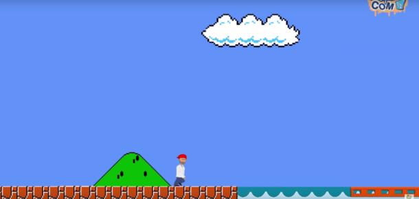 Sanatçı, yeniden tasarladığı Super Mario ile mültecilerin zor durumuna dikkat çekiyor