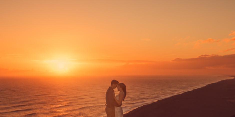 Düğün masrafı yapmak yerine İzlanda'yı gezmeyi tercih eden çift