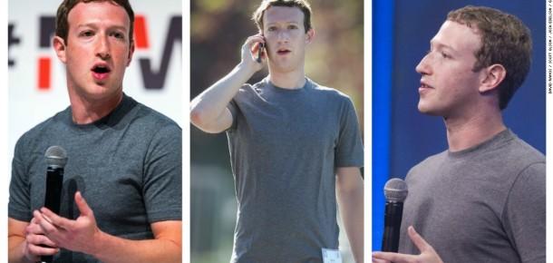 Mark Zuckerberg'in şaşırtıcı elbise dolabı