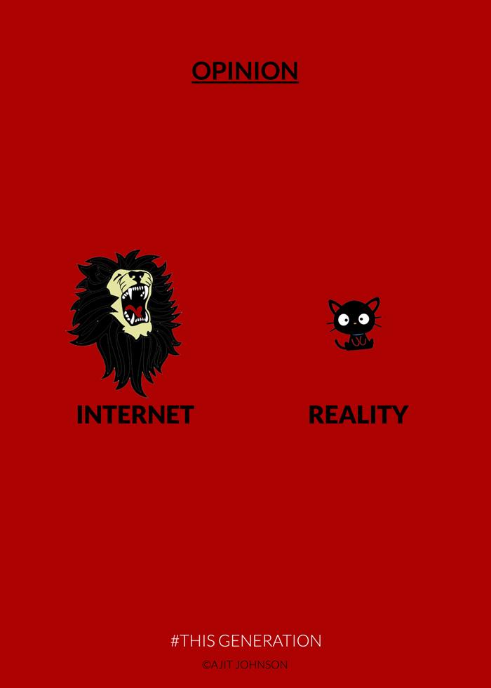 Görüş-Internet'te gerçekte