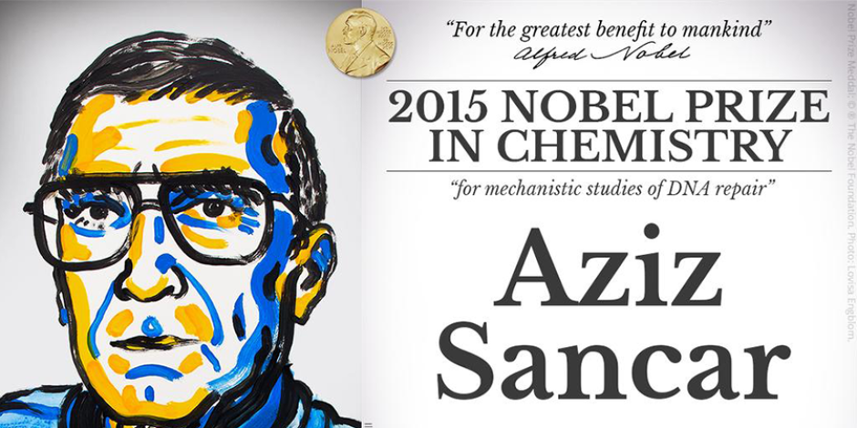 Kimya alanında Nobel ödülünü Aziz Sancar kazandı