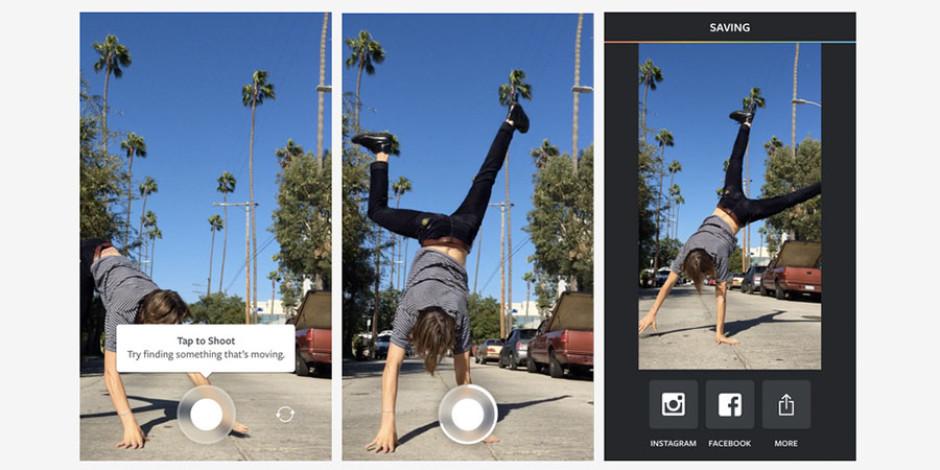 Instagram'ın 1 saniyelik video paylaşım uygulaması: Boomerang
