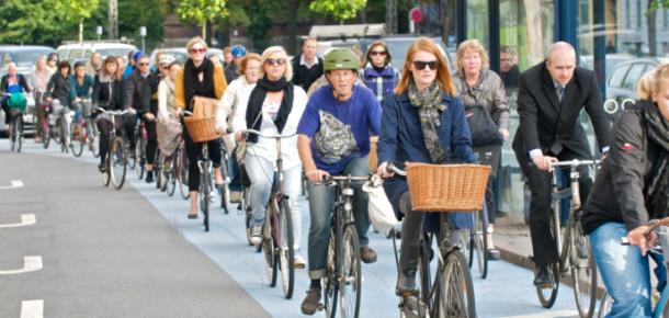 Kopenhag'ın 'trafiği', bildiğinizden çok farklı