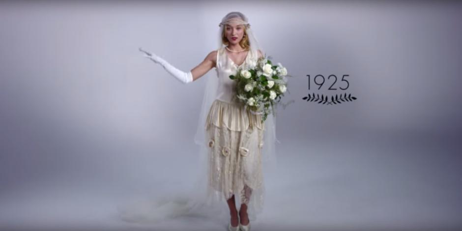 YouTube'da popüler video: Düğün modasının 100 yıllık değişimi