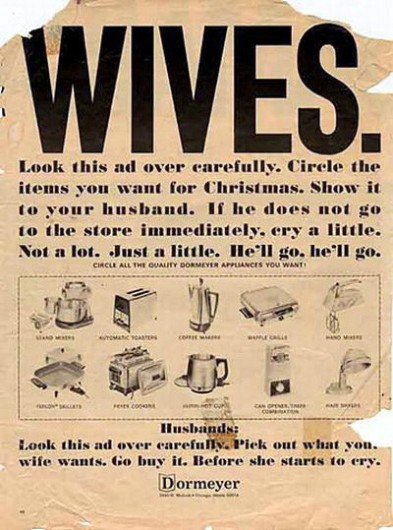 dormeyer-1966-wives-are-desperate-for-home-appliances-and-will-cry-to-get-them