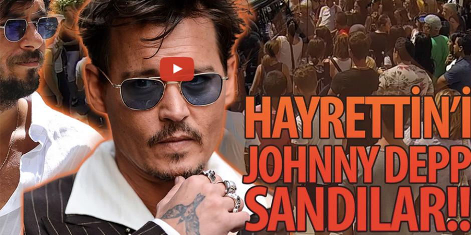 Hayrettin, Amerikalıları Johnny Depp diyerek trollerse