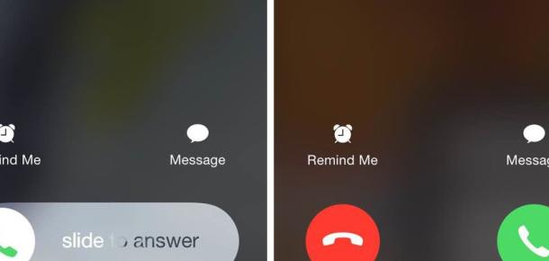 iPhone kullanıcıları neden iki farklı arama cevaplama şekli görüyor?