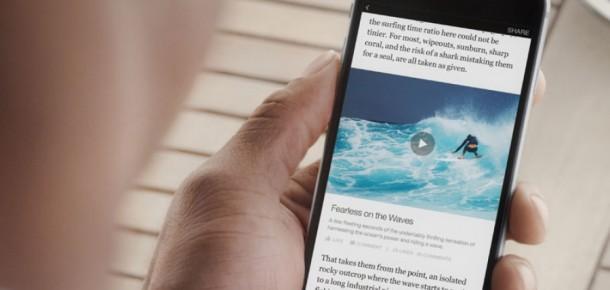 """Facebook'un """"Anlık Makale"""" hizmeti tüm iPhone kullanıcıları için kullanıma hazır"""