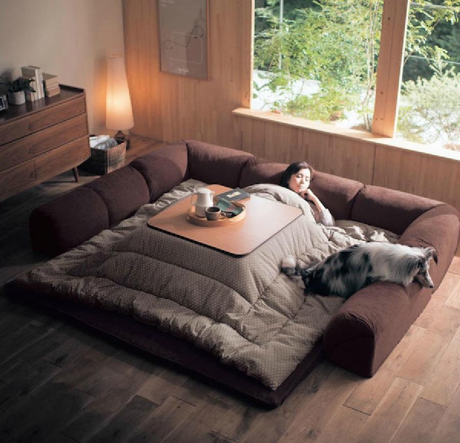 Yataktan çıkmak istemeyenler için mükemmel tasarım!