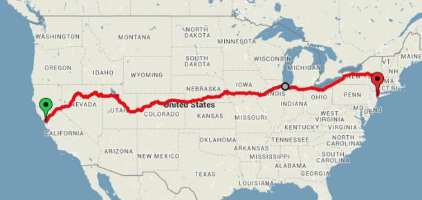 ABD'yi baştan sona sadece 213 dolara gezen gezgin blogger