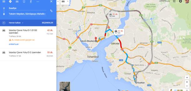 Google Maps nihayet Türkiye'deki iOS kullanıcılarına açıldı