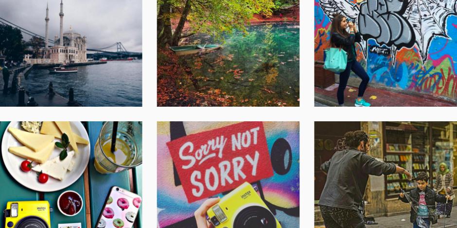 Blogger'lar Karaköy'den fotoğraf makinaları ile geçti