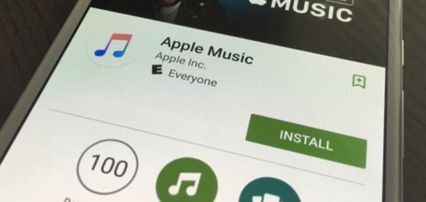 Apple Music artık Android'de