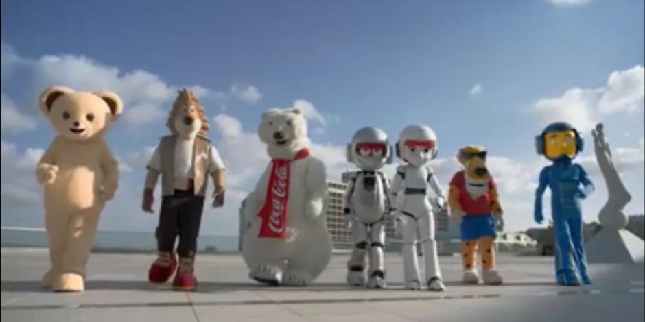 Marka maskotları Brand Week İstanbul reklam filminde hayat buluyor