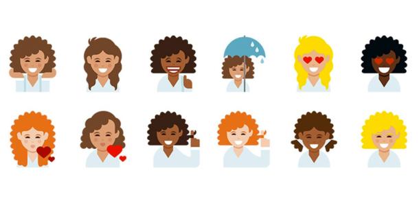 Dove'dan dikkat çeken kampanya: Kıvırcık saçlı emoji