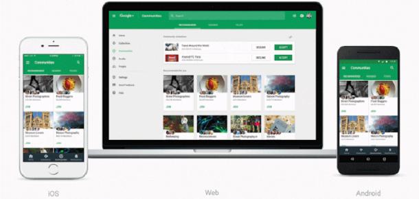 Google+ yeni tasarımı ile karşımızda