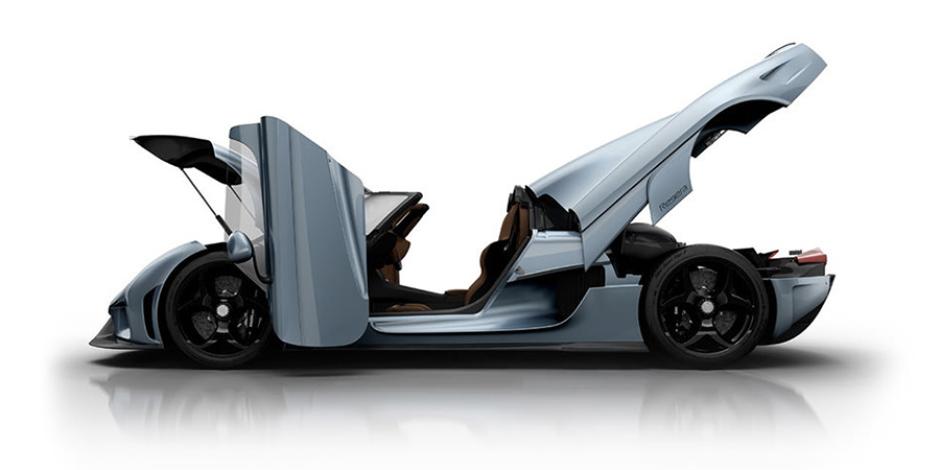 """Hayalinizdeki """"Transformers"""" kapılı araç 2 milyon dolar"""