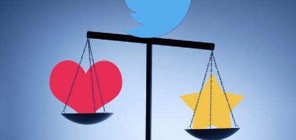 Twitter'ın yeni 'like' kalp butonu 'favorite' yıldızından daha fazla kullanılıyor