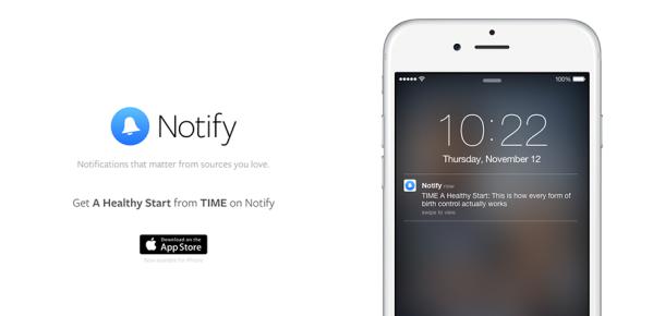 Facebook'un yeni uygulaması: Notify